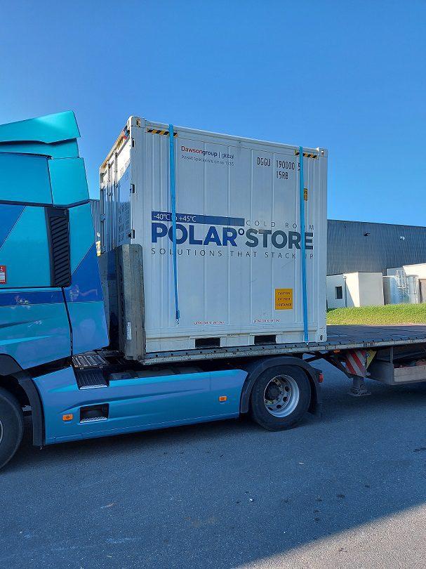 Container frigorifique 10'